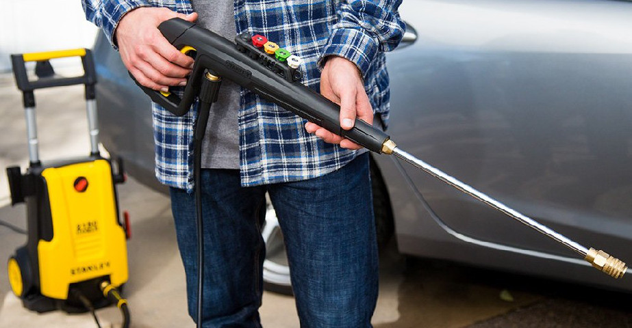 Electric Pressure Washers for the Driveway/Car/Patio