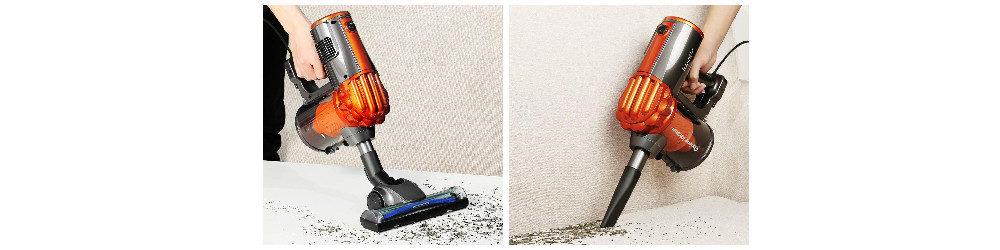 iwoly V600 Lightweight Corded Stick Vacuum