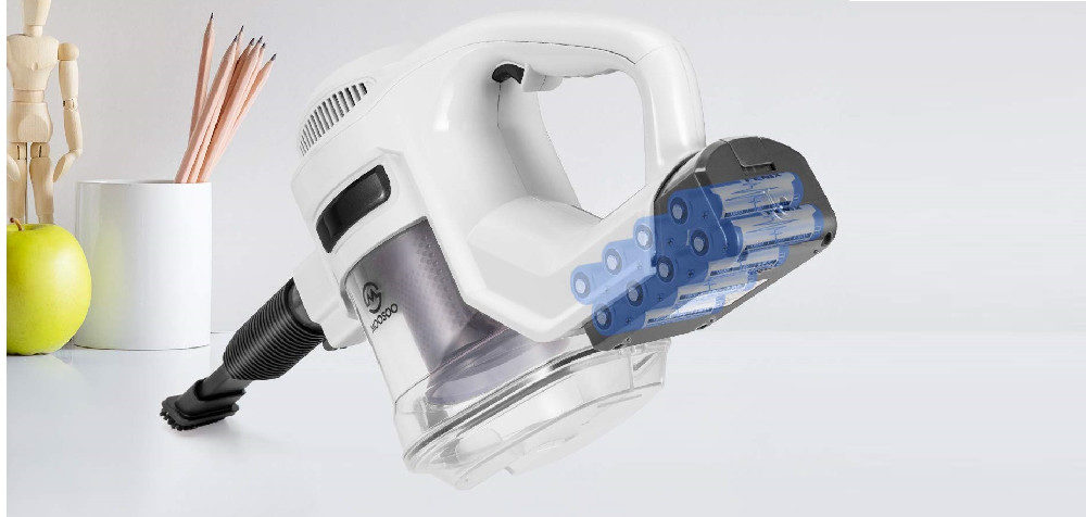 MOOSOO Cordless Vacuum Cleaner, 2 in 1 Stick Vacuum Review