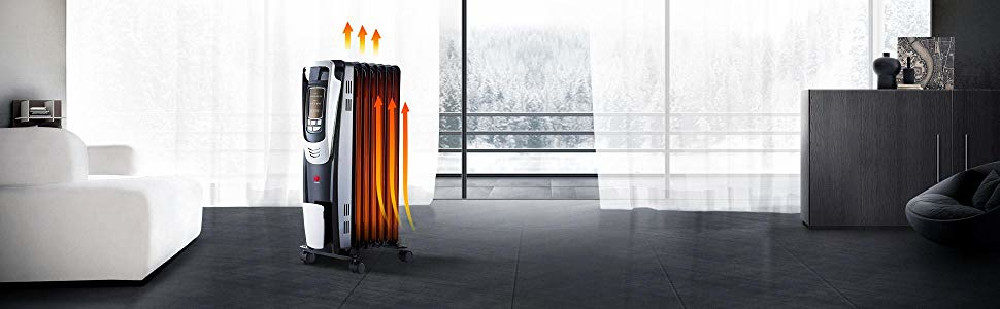 DeLonghi EW7707CB vs. PELONIS NY1507-14A Radiant Heater