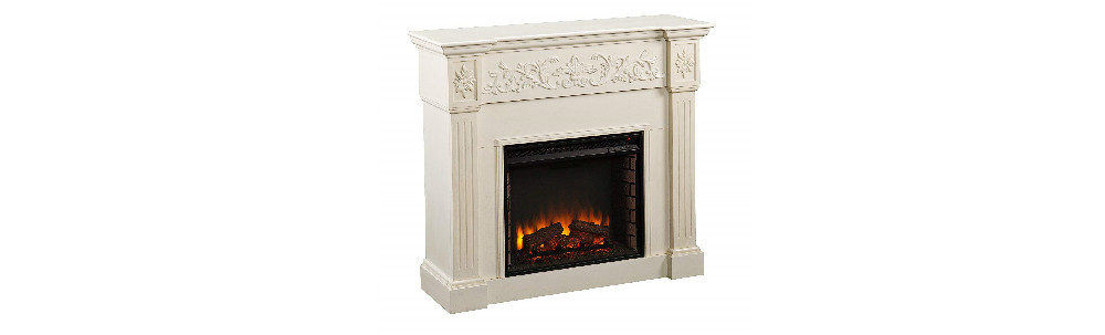 Southern Enterprises Calvert Fireplace