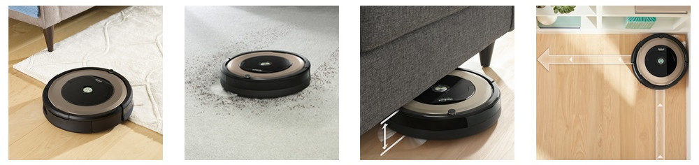 Roomba 891 Robotic Vacuum Cleaner
