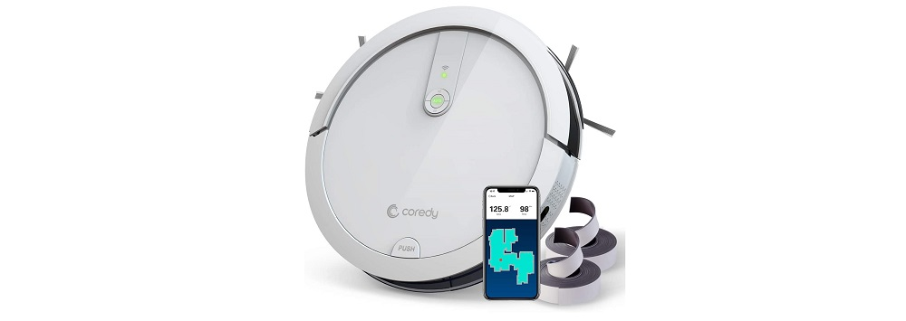 Coredy D400 Robot Vacuum Review