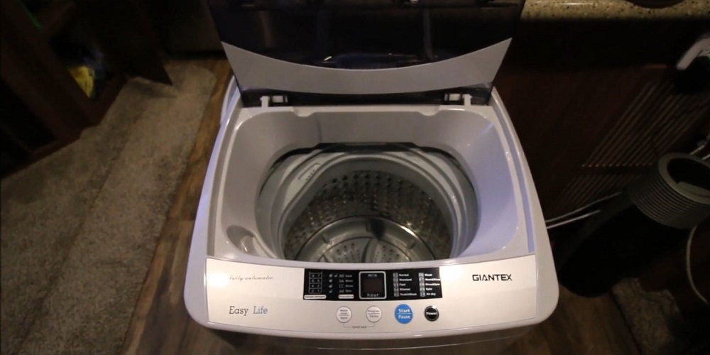 Giantex Full-Automatic Washing Machine Portable Compact 1_34 Cuft