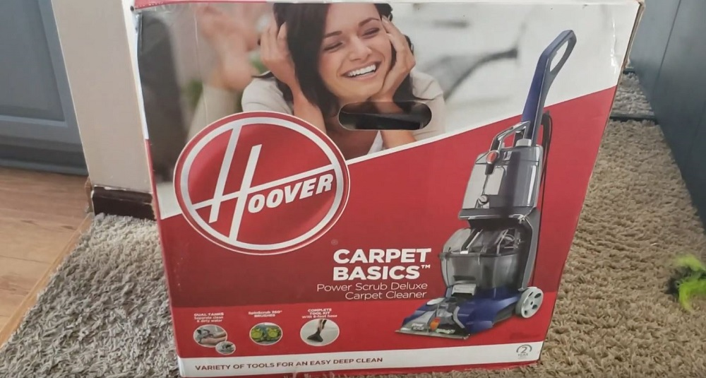 Hoover Power Scrub Deluxe unboxing