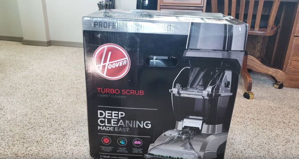 Hoover Turbo Scrub unboxing