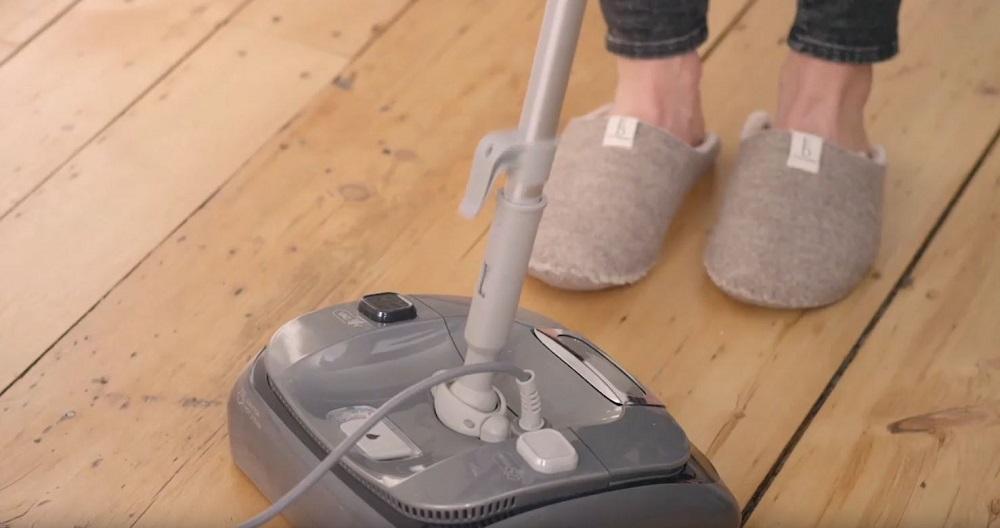 LIGHT N EASY Powerful Floor Steamer Cleaner
