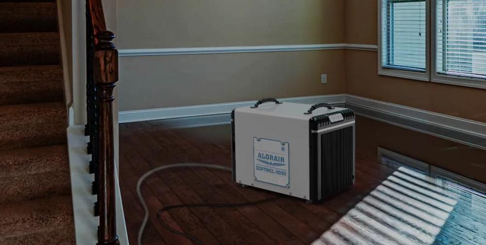 Dehumidifier for a Crawl Space
